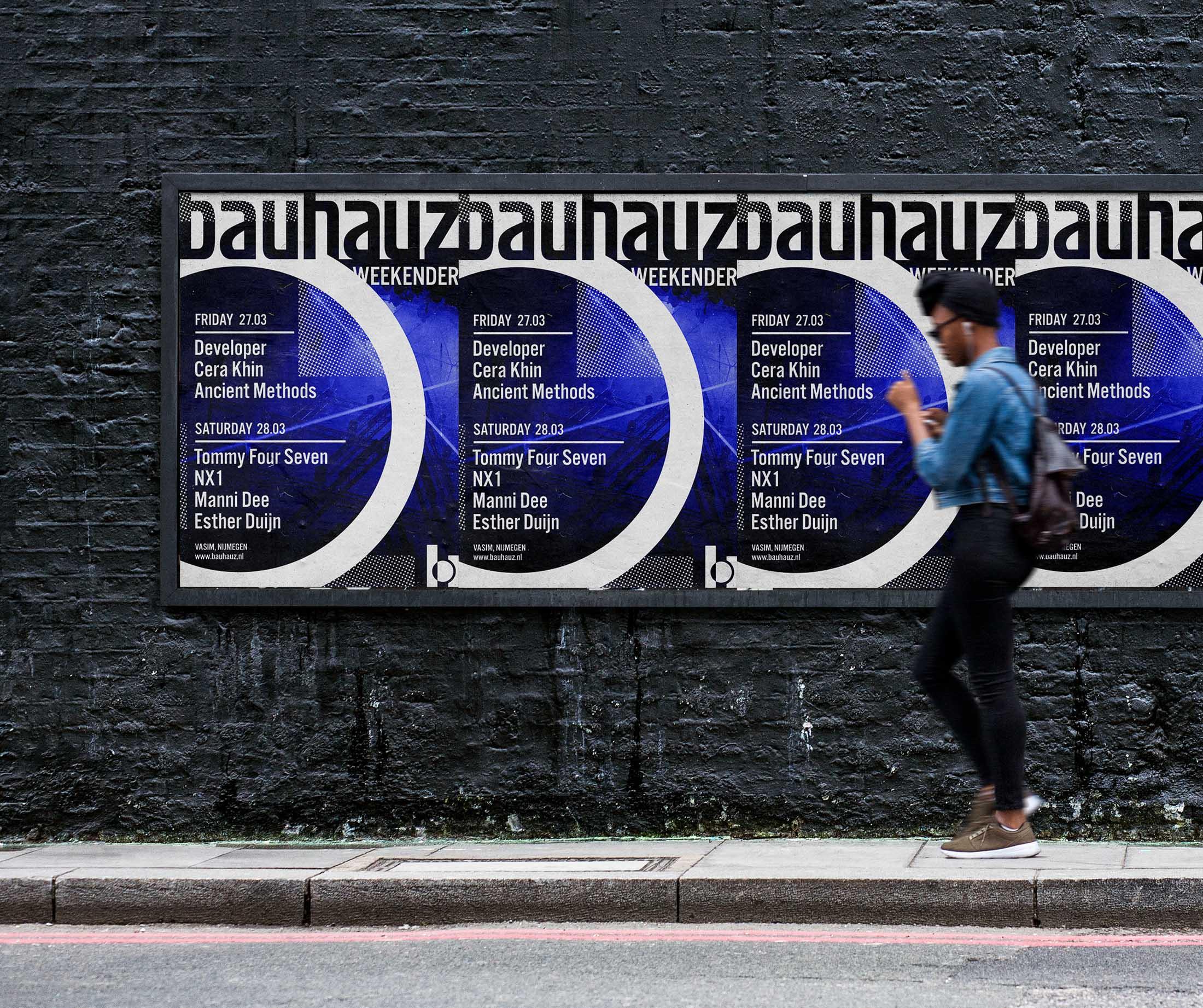Bauhauz Weekender Artwork Posters