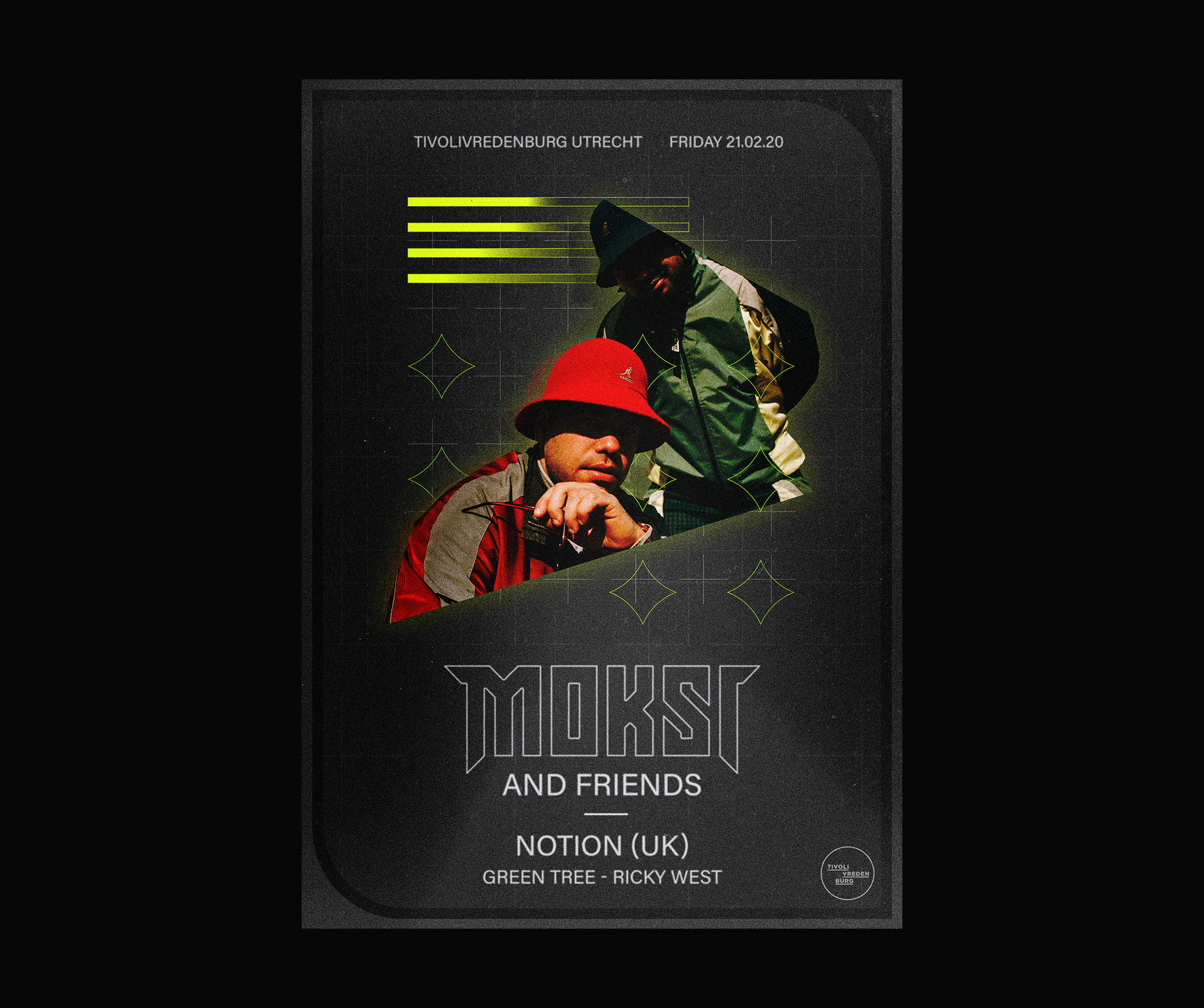 Moksi Poster Design Tivoli